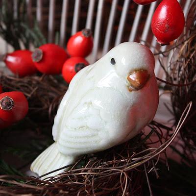 ptaszek ceramiczny