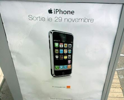 iphone france pub orange