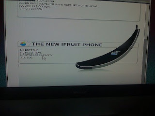 ifruit phone iphone parodie
