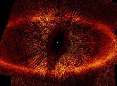 Un inel de praf în jurul stelei Fomalhaut