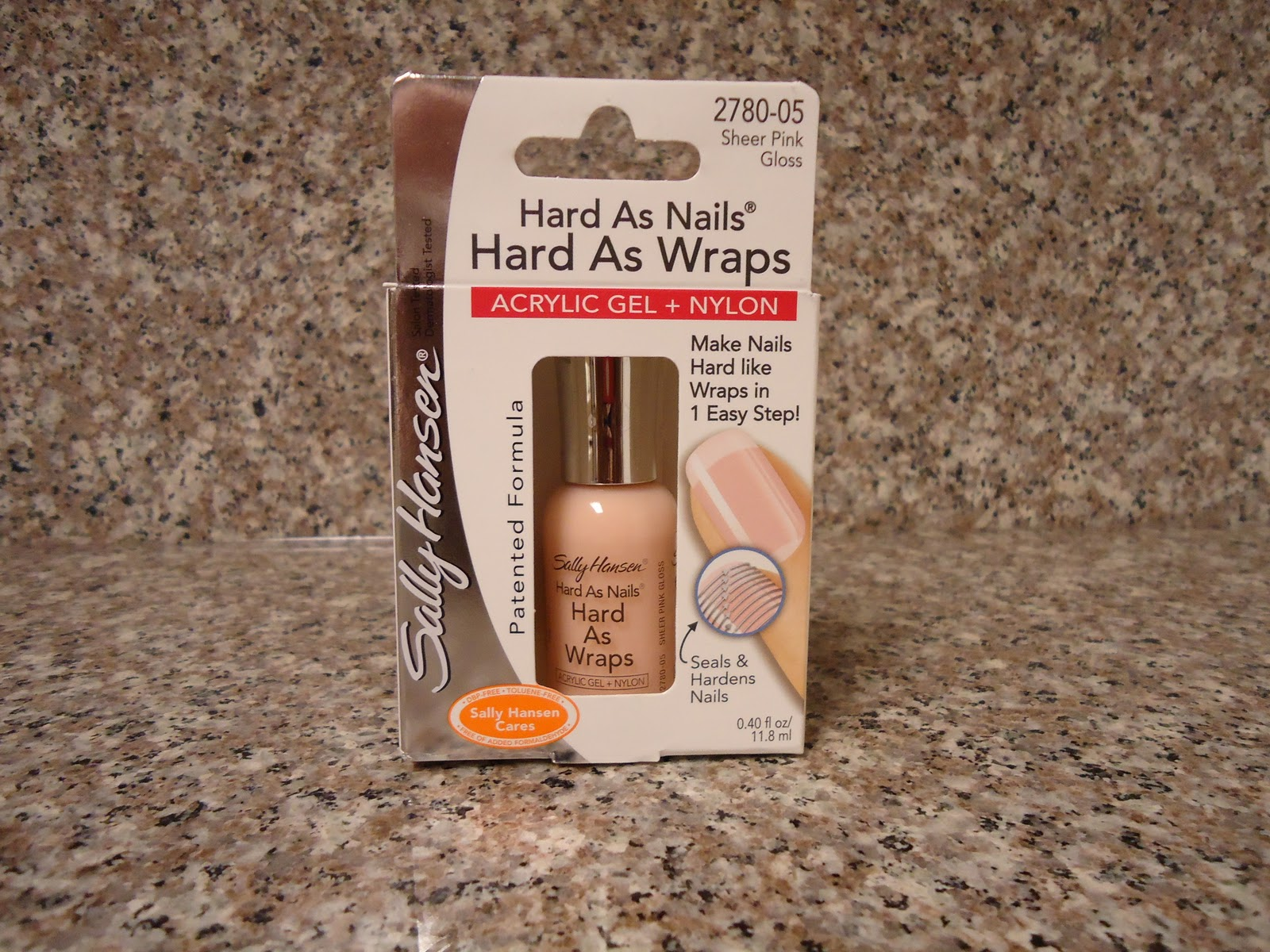 BlkBeauty4Life: Sally Hansen Hard As Nails Hard As Wraps Acrylic