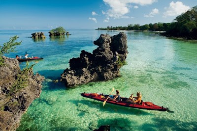 Beautiful Beach On The Island Of Zanzibar