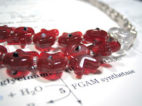 Red Tide Necklace by Anandis Laboratory