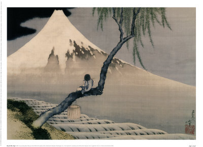 HOKUSAI - (Peintre japonnais - 1760-1849)