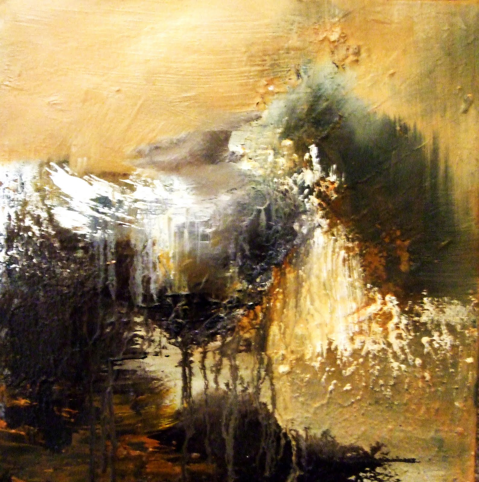 Cytise a b armi peintre abstrait for Peintres abstraits