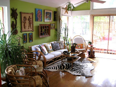 kitschy kim tropical decorating style for fun home decor