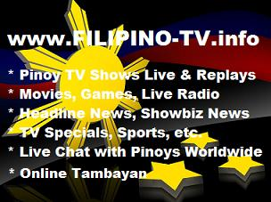 Watch all Pinoy Shows Online