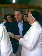 Presidente Alvaro Uribe Vélez