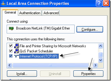 how to create local area connection in windows 7