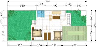 denah rumah tipe 36 kumpulan gambar rumah