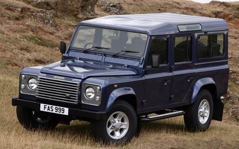Online Cars Wallpapers: Land Rover Defender