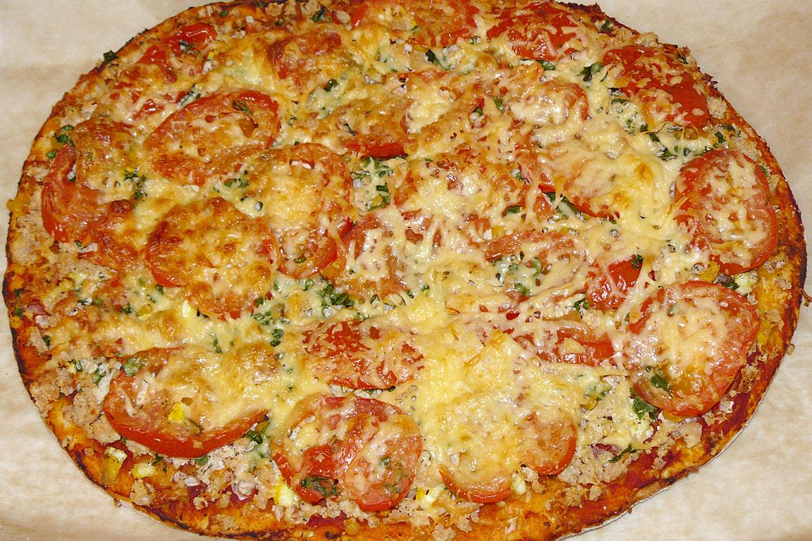Рецепты простой пиццы в домашних условиях с фото в духовке