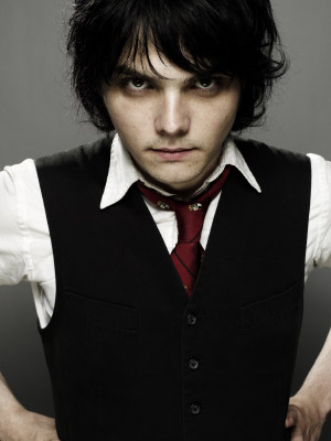 Gerard Arthur Way  Singer  Writer  Painter  Illustrater And A Genious