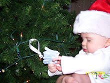 Ashton and his first Christmas ornament