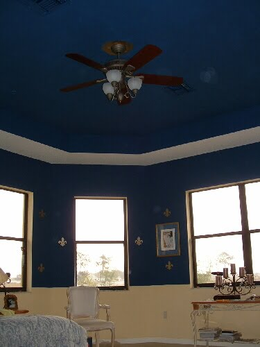Serenity In Design Painted Ceilings