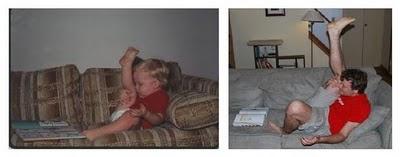 antes1 Recriando fotos da infância