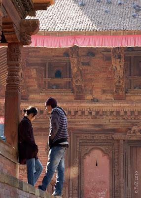 Lovers in Kathmandu