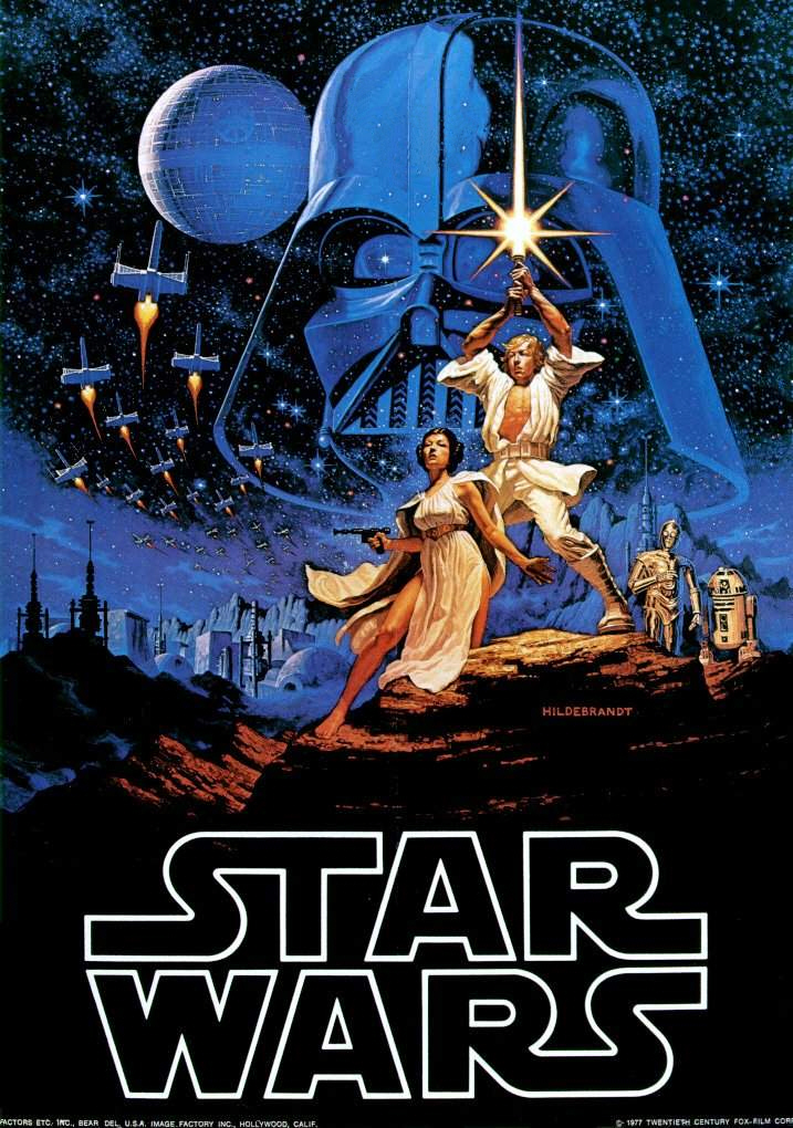 "STAR WARS Saga of Episodes IV-VI: ""A NEW HOPE"""