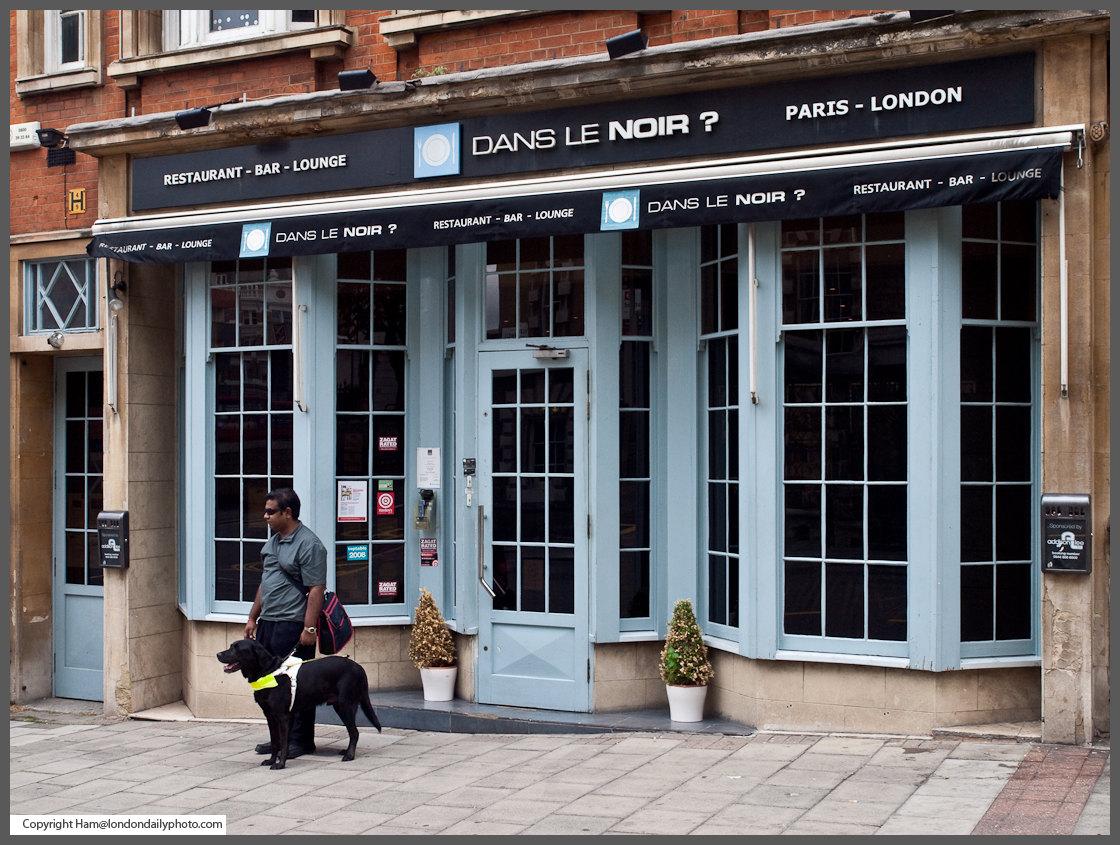 Blind Waiters Restaurant London