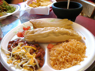 Melena's Taco Shop - chicken tamales