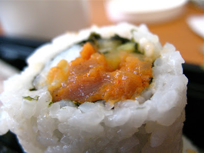 Rice-n-Roll spicy tuna sushi roll