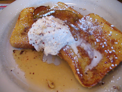 Hazelnut Pear French Toast at the 5 Spot