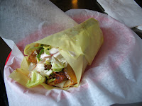 Chicken Shawarma at Zaina