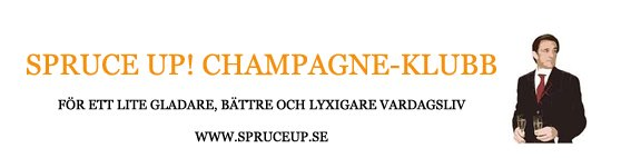 SPRUCE UP! Champagne-klubb