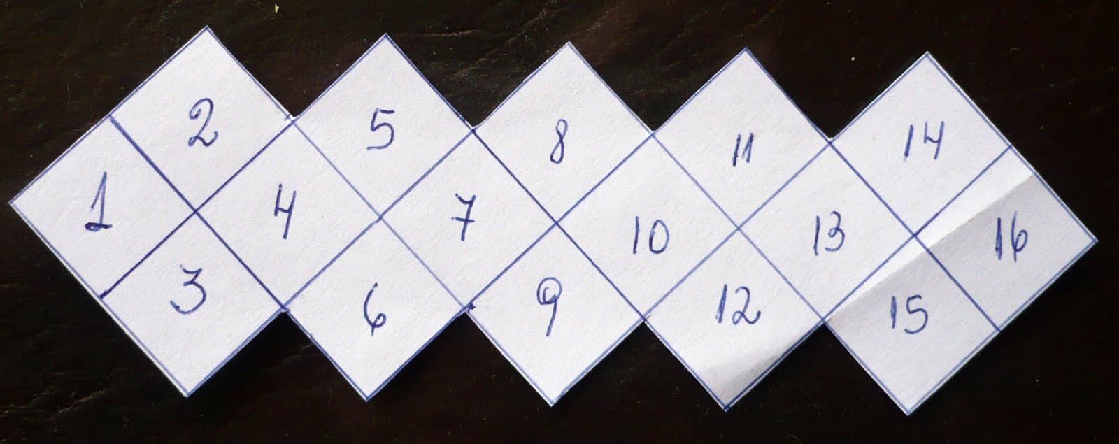 macrame les dejo el grafico y el motivo de union de los cuadrados