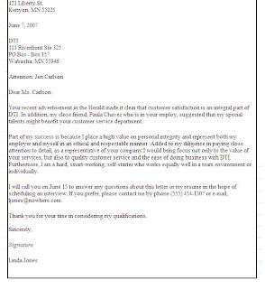 letter of application letter of interest for music