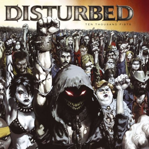 Disturbed 10000 fists cd case