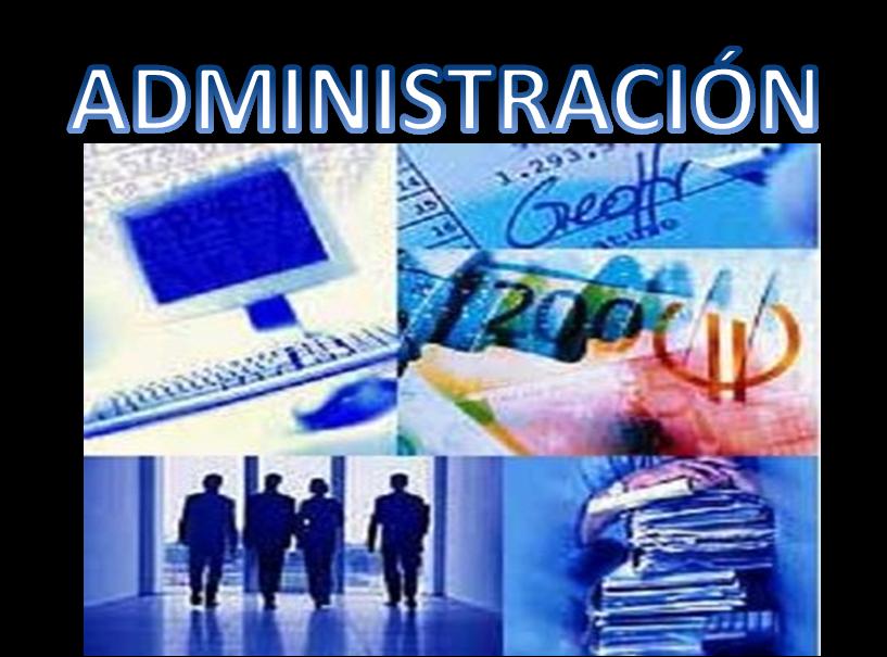 Mi software administrativo concepto de administraci n for Concepto de organizacion de oficina