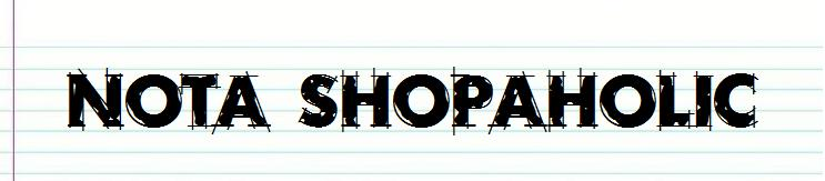 Nota Shopaholic