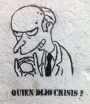 ¿Quién dijo crisis?