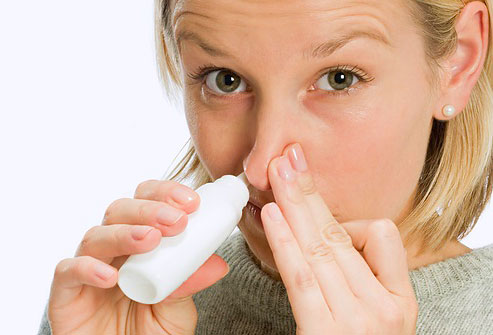 Vicks Sinex Decongestant Nasal Spray (where's the decongestant spray? so i