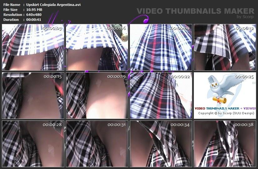 Upskirt pendeja argentina incluye pozos y toallita - 3 1