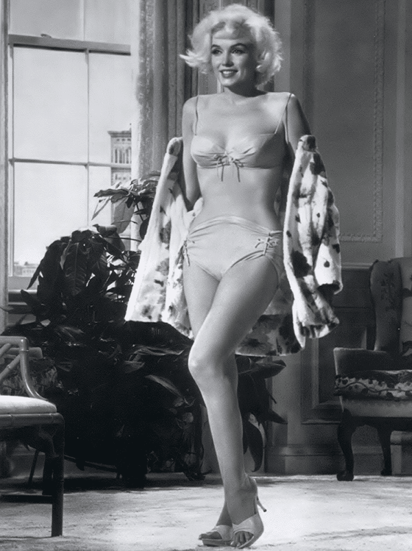 femmes Lingerie: Marilyn Monroe Trs sexy non rembourr