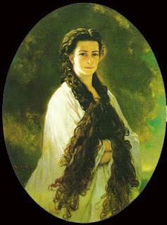 Retratos e imágenes de la emperatriz Elisabeth - Página 2 Empress_Elisabeth_of_Austria,_1864