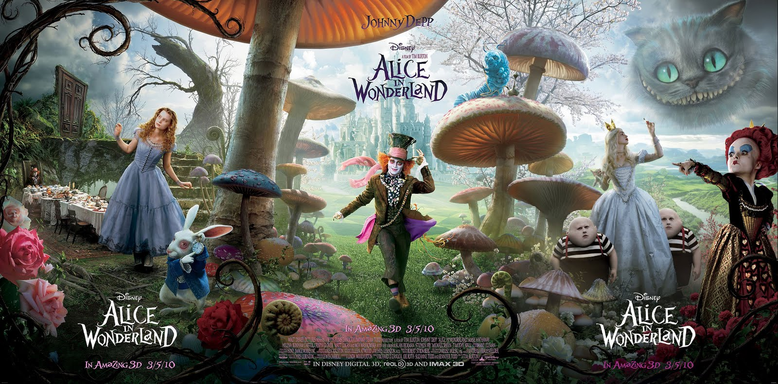 alice in wonderland movie poster wallpapers - Alice in Wonderland on Pinterest Movie Posters Tim