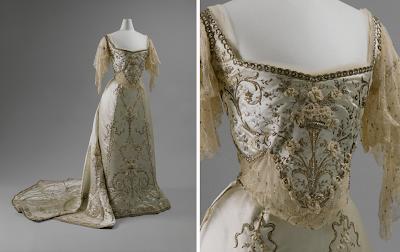 Evening dress 1900 joseph