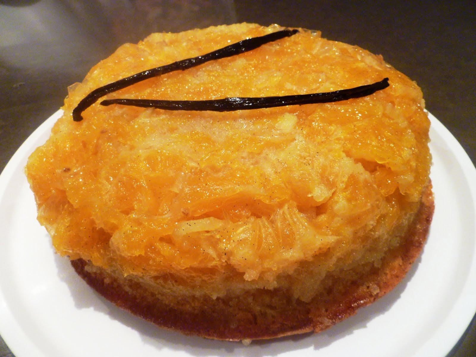 Donna Hay's Sticky Orange And Vanilla Upside-Down Cake Recipe ...