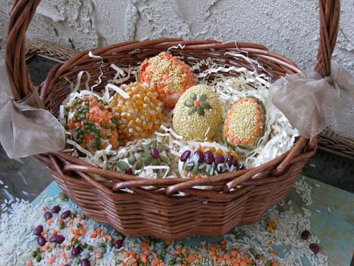 pasqua, decorazioni, uova