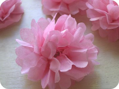 Petite planet tiny delicate tissue flower making tutorial from zakka life has a great tutorial on how to make sweet tissue paper flowers for summertime decor strung together these would make adorable reusable party mightylinksfo