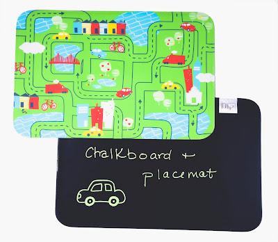 non-toxic placemats, chalkmat, pvc free placemat, bpa free placemat