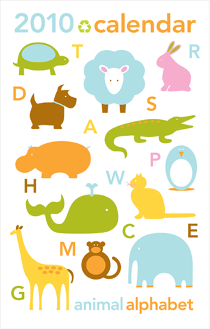 eco-friendly calendar, green calendar, eco-friendly wall calendar, calendar for kids