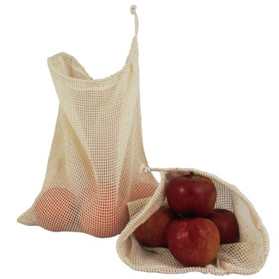 reusable produce bags, cotton produce bags