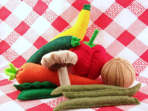 Felt Food Toys R Us : Petite planet felt playground s eco friendly play food