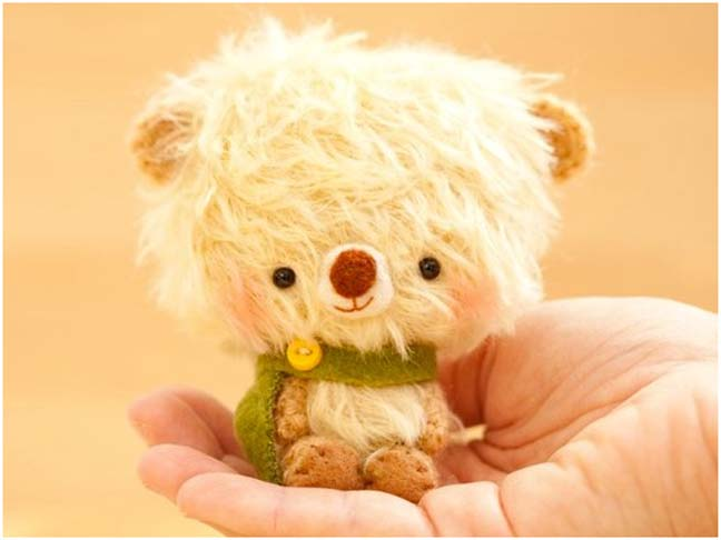 Amigurumi Little Teddy Bear : Petite Planet: Handmade Amigurumi Teddy Bears featured on ...