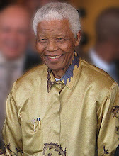 NELSON MANDELA            - FORMER PRESIDENT OF SOUTH AFRICA - CIVIL RIGHTS ADVOCATE (1918-Present)