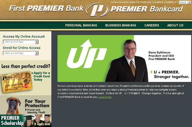 First Premier Bank Credit Card - Login to www.firstpremier.com